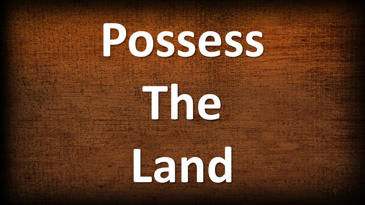 Possess the Land