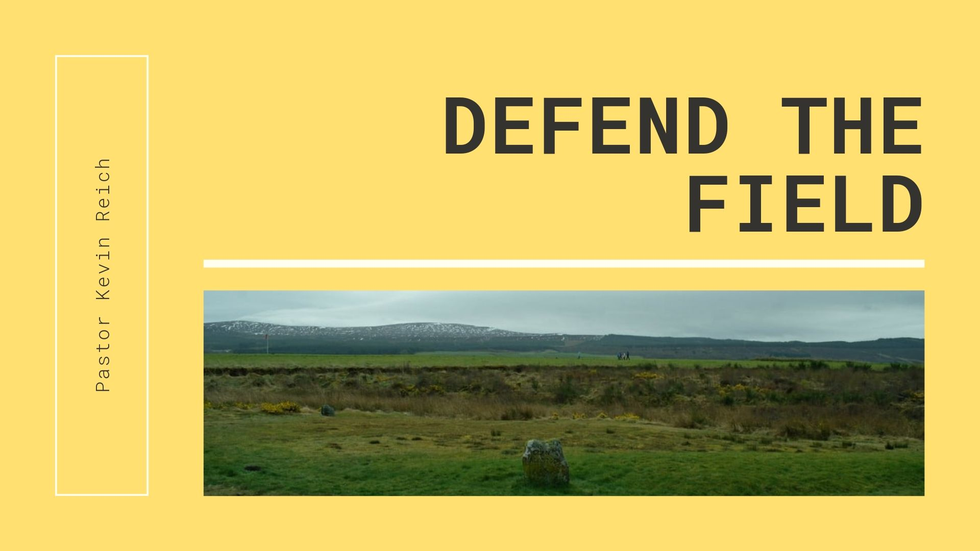 Defend The Field